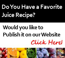 Submit Juicing Recipes